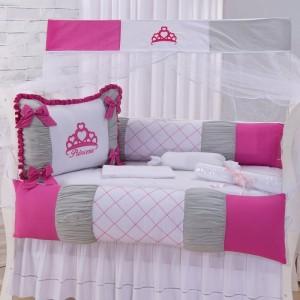 kit Berço Sophia Pink