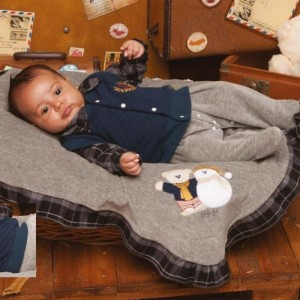 Saída de Maternidade Bernardo Cinza