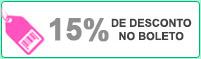 Desconto no Boleto de 12%